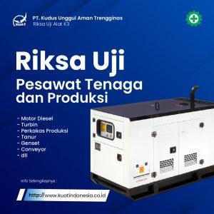 Riksa uji Pesawat Tenaga Produksi ( PTP )